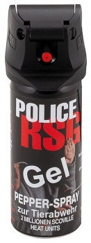 MFH Pfeffer-Spray, Gel, 50 ml,RSG-Police, (VERKAUF NUR EU)