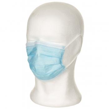 .Einwegmaske, 3-Lagen, mit Elastikband