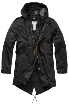Brandit M51 US Parka black 3XL