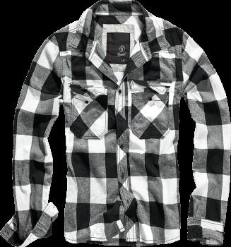 Brandit Checkshirt white/black 4XL