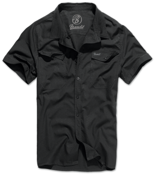 Brandit Roadstar Shirt, 1/2 sleeve black 4XL
