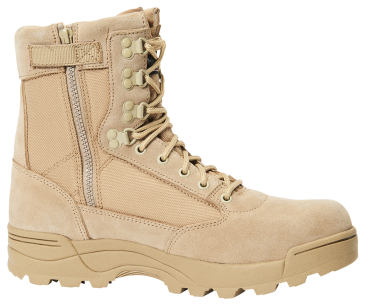 Brandit ZIPPER Tactical Boot  camel 43