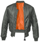 Mobile Preview: Brandit MA1 Jacket anthracite M
