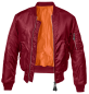 Preview: Brandit MA1 Jacket burgundy S