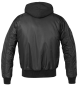 Preview: Brandit MA1 Sweat Hooded Jacket black S