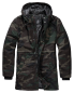 Preview: Brandit Grid-Camo Parka woodland L