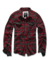 Mobile Preview: Brandit Checkshirt Duncan red-brown L