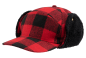 Preview: Brandit Lumberjack Wintercap red/black
