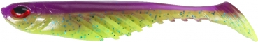 *POWERBAIT RIPPLE SHAD7CMPURPLECHARTREUSE