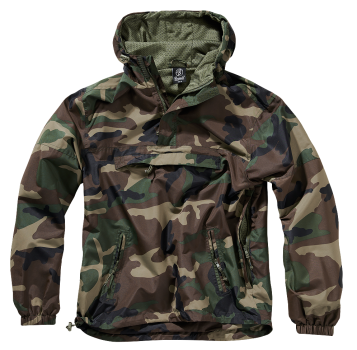 Brandit Summer Windbreaker woodland XL