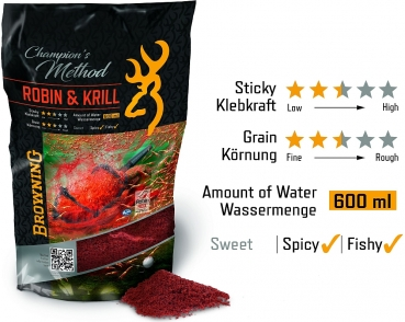 Browning Browning Champion's Method Robin & Krill rot 1kg