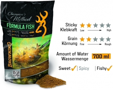 Browning Browning Champion's Method Formula Fish       Natur Scopex Karamell 1kg