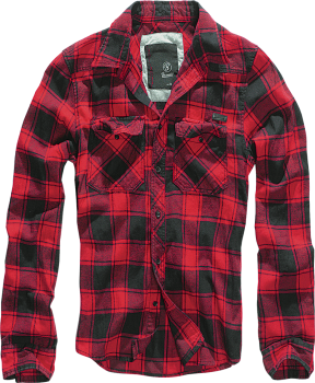 Brandit Checkshirt red/black 4XL