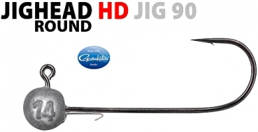 Spro Round Jig Head Hd 2/0-10G 3St.