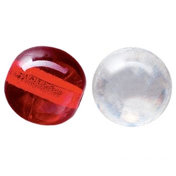 Jackson-TC Round Glass Beads -8mm Clear
