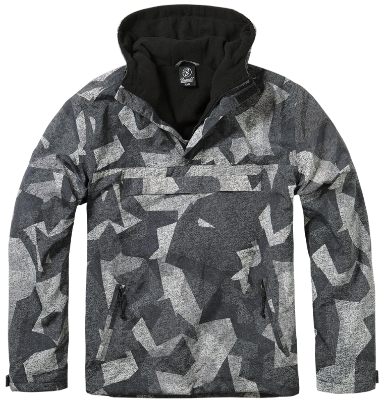 Brandit Windbreaker night camo digital S