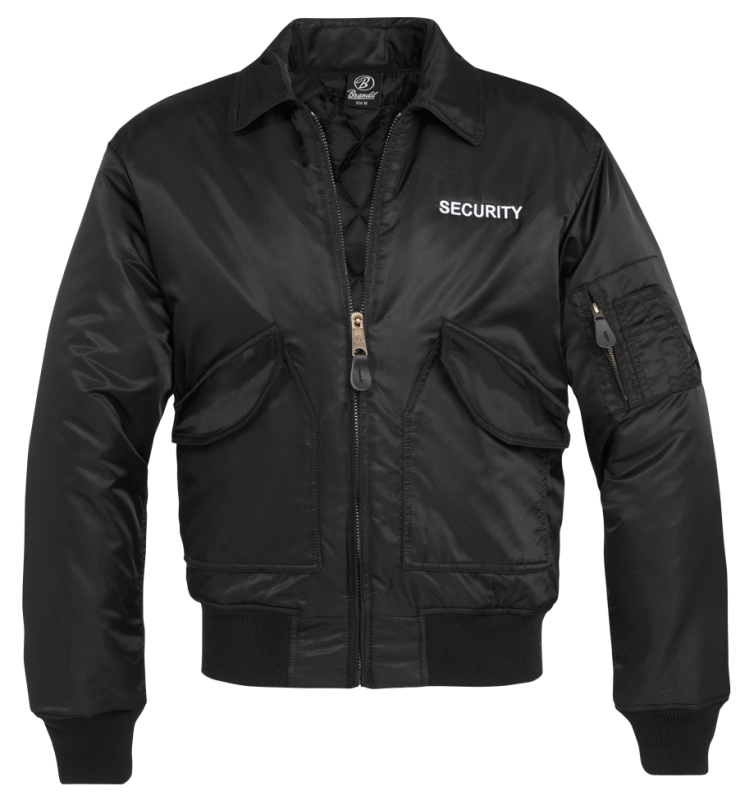 Brandit Security CWU Jacke black 4XL
