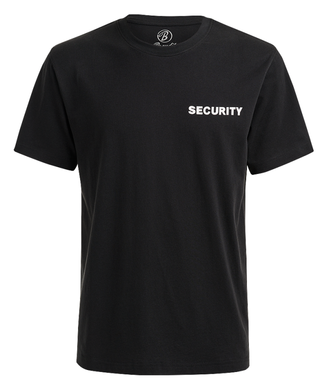 Brandit Security T-Shirt black XL