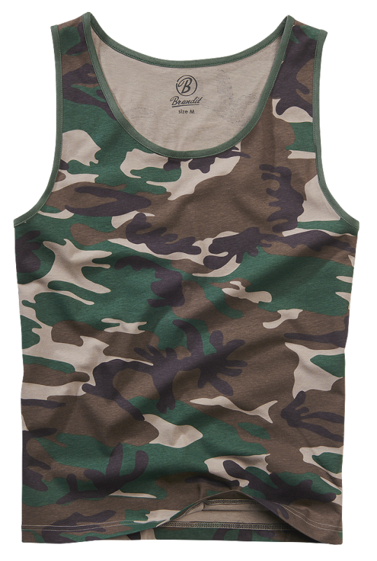 Brandit Tank Top woodland XL