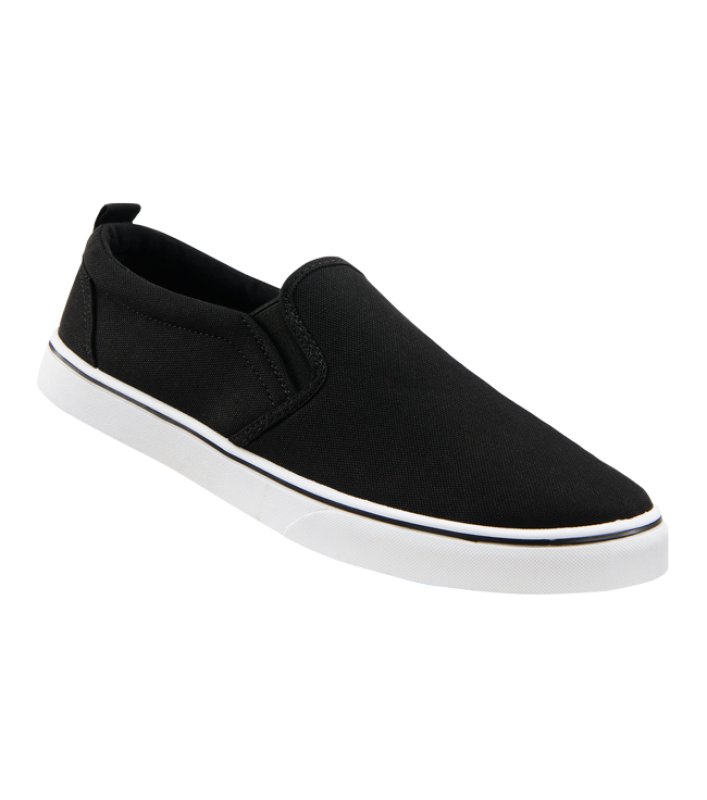 Brandit Southampton Slip on Sneaker black-white 36
